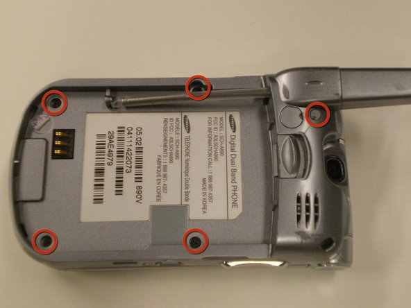 Remplacement du couvercle arrière du Samsung SCH-A890