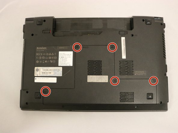 Lenovo B575-1450 Back Panel Removal