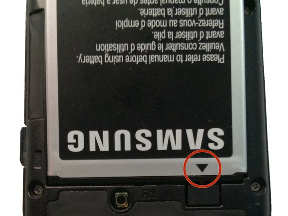Make sure when replacing the battery that the arrow on the bottom is facing down.