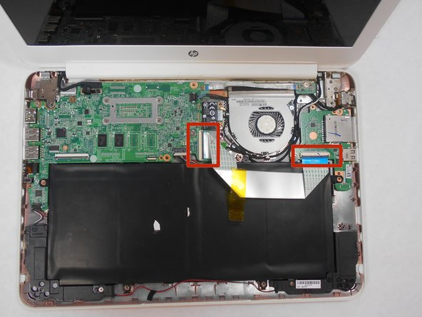 HP Chromebook 14-Q010DX Battery Replacement