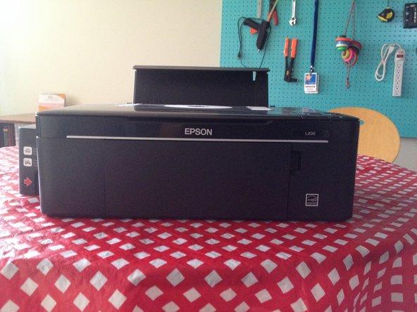 A wild Epson Printer appears.