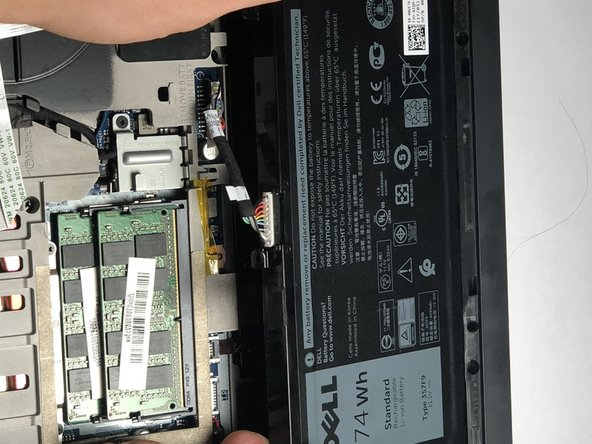 Dell Inspiron 15-7567 Battery Replacement