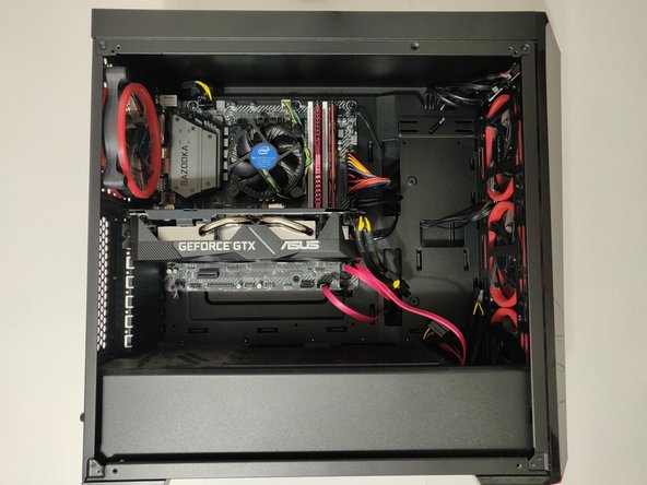 Masterbox Lite 5 Mid Tower Case RAM Replacement