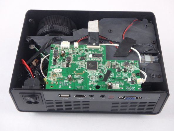 DBPOWER RD-810 Motherboard and LED Bulb Replacement