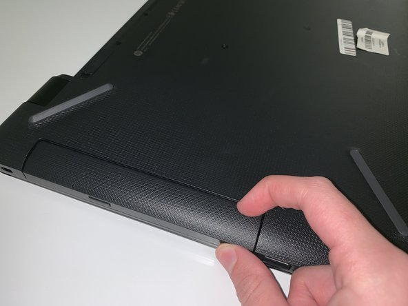 Pull outwards on the disk reader to remove from main frame.