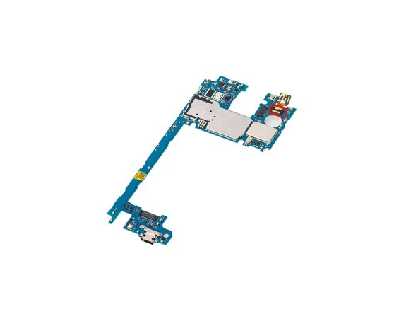 Release front camera connector and remove it.