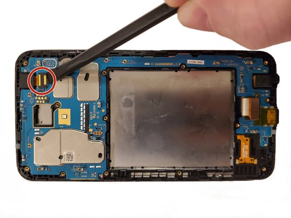 LG K30 Front-Facing Camera Replacement