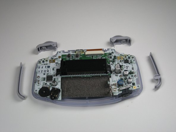 Game Boy Advance Shoulder Button and Side Panels Replacement