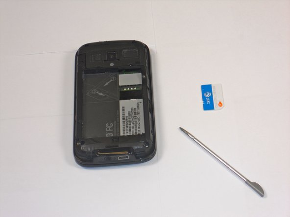 HTC Touch Pro 2 SIM Card Replacement