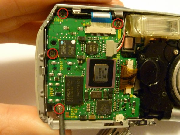 Olympus D590 Logic Board Replacement