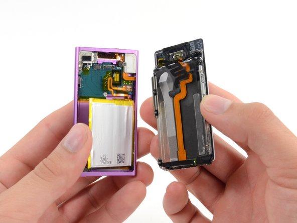 Remplacement de l'ensemble panneau frontal de l'iPad Nano 7ème génération