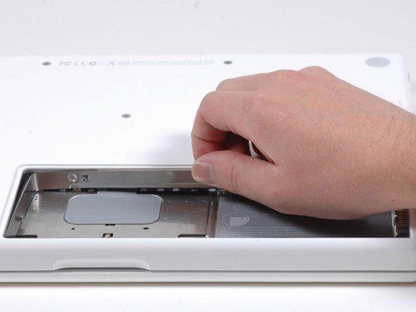 MacBook Core 2 Duo メモリーカバー交換