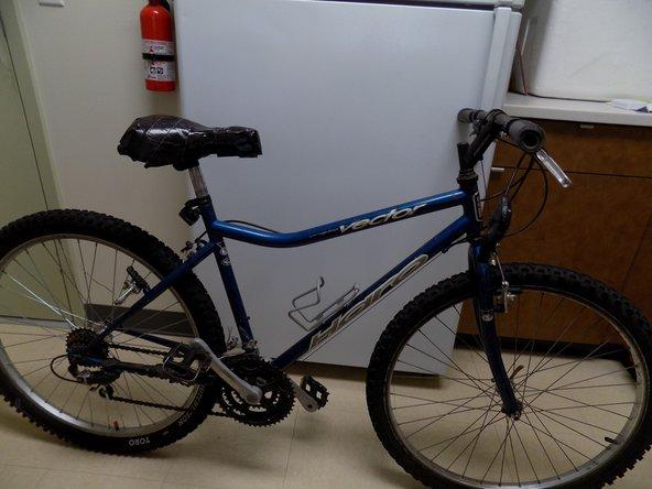 Flip bike back right-side-up.