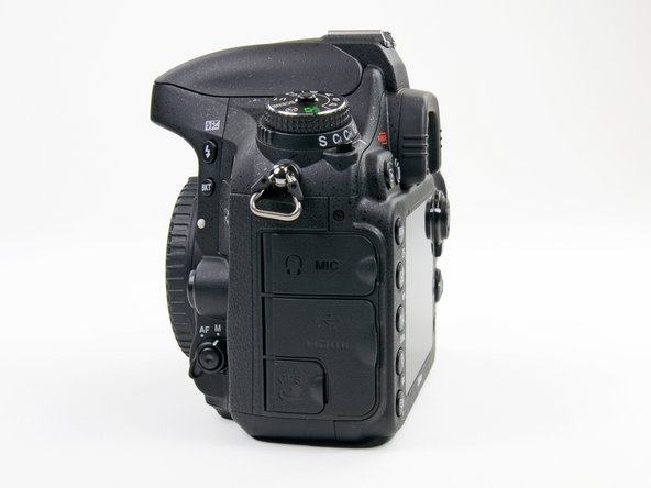 Before we take a look inside the D600, let's take a look at its port side, aptly located on the port side of the camera.
