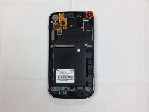 Samsung Galaxy S II T989 Front Camera Replacement