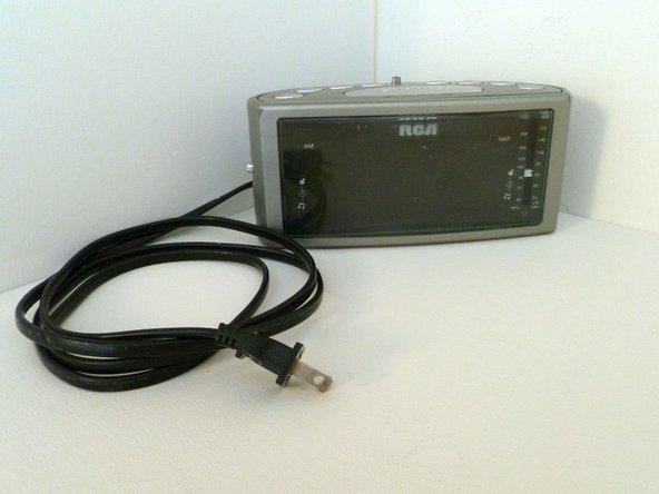 The RCA RP3715A Radio Alarm Clock