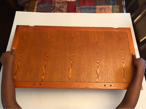 Drop-Front Desk Panel Repair
