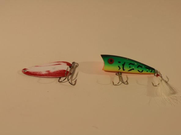 How to Resurface a Fishing Lure