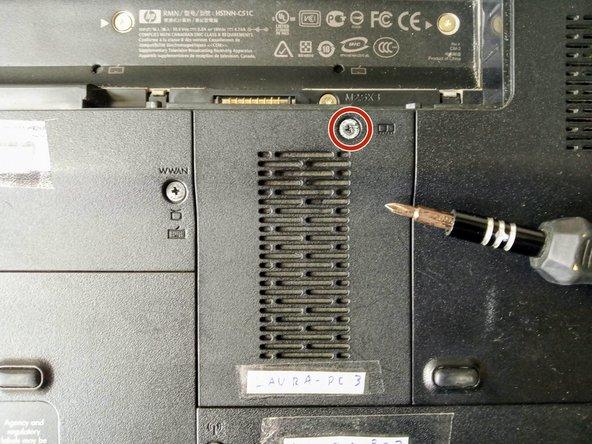 Reemplazo de memoria en laptop HP Pavilion dv4-1120us