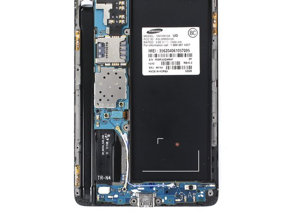 Samsung Galaxy Note 4 Antenna Connectors Replacement