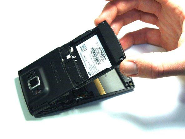 Samsung Blackjack Back Phone Casing Replacement