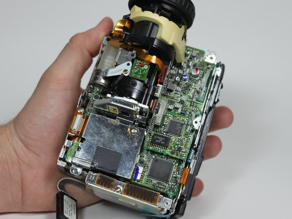Sony CCD-TR81 Lens Assembly Replacement