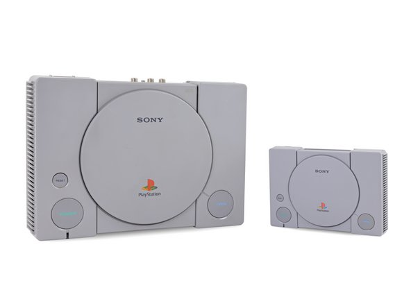 Stacked up against its contemporary nostalgia machine, the PlayStation Classic, our original PlayStation is a veritable giant.