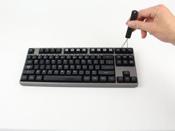 CM Storm QuickFire Rapid O-Ring: Small Keycap Installation