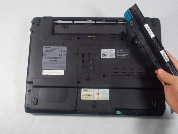 Toshiba Dynabook AX 53D Battery Replacement