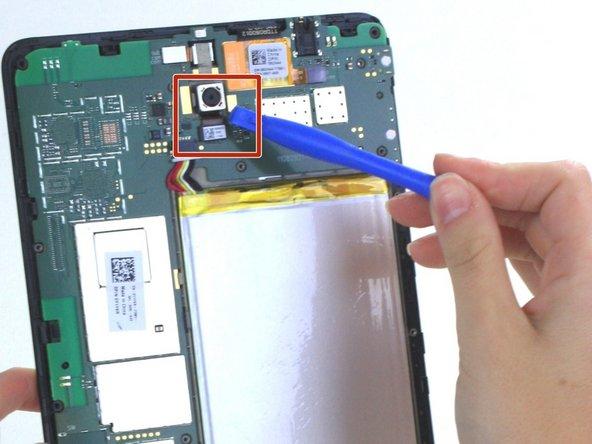 Dell Venue 8 Back Camera Replacement