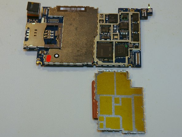 The entire board (the EMI shield is removed from the right side).