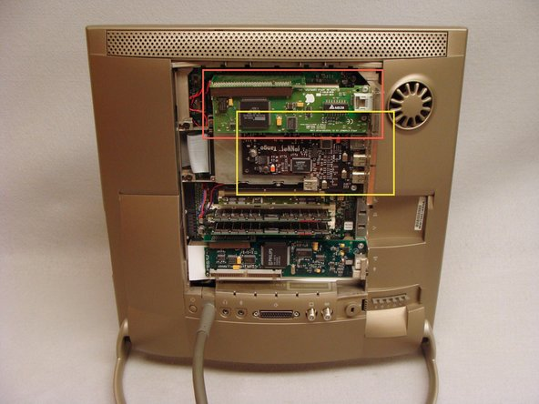 Remove any ComSlot II or PCI cards that may be installed and their risers.