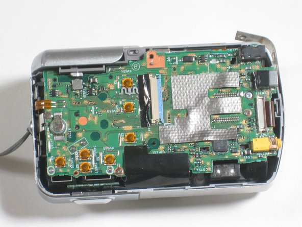 Now that everything has been disconnected from the board, remove LCD screen.