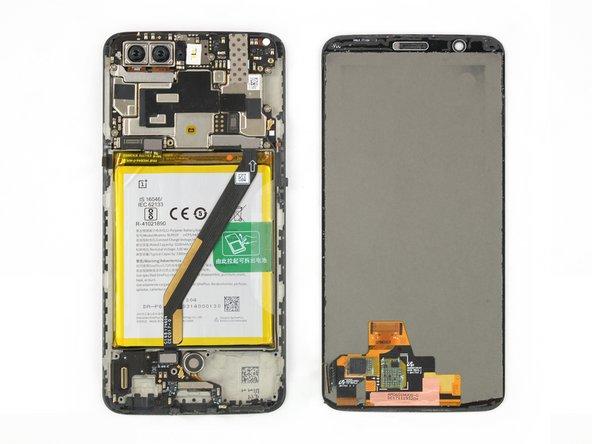 OnePlus 5T Vervanging van het AMOLED-scherm en de digitizer