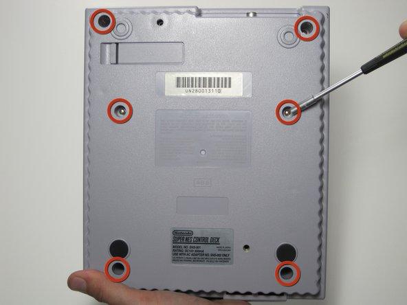Remplacement du boitier externe du Super Nintendo