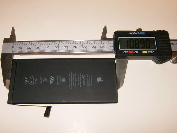 Length is 108.9mm