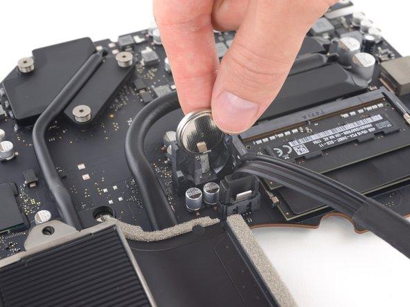 iMac Intel 21.5インチ Retina 4K Display 2019 PRAMバッテリーの交換