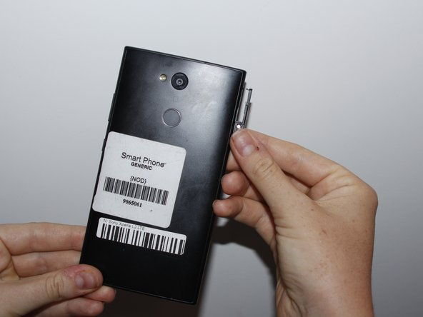 Before disassembling the battery, power off your Sony Xperia L2 LTE.