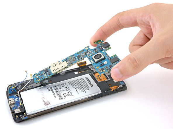 Samsung Galaxy S6 Edge Motherboard Replacement