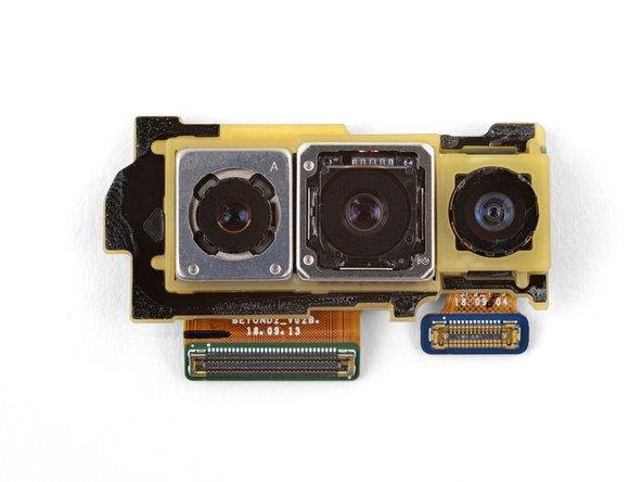 Reemplazo del módulo de cámara frontal del Samsung Galaxy S10