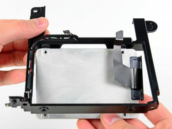 In the next two steps, you will install the hard drive into its bracket.