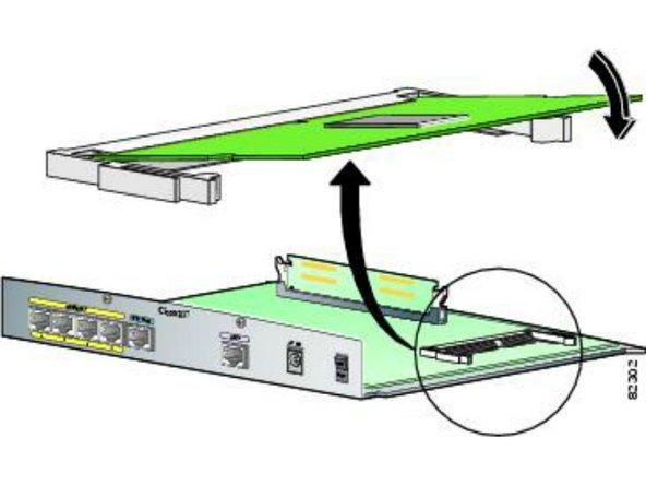 Cisco 878 Router StrataFlash Memory module Replacement/Upgrade