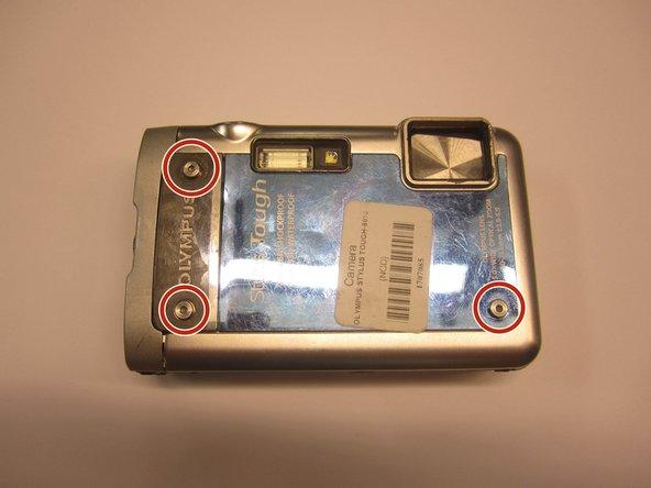 Disassembling Olympus Stylus Tough-8010 Camera Casing