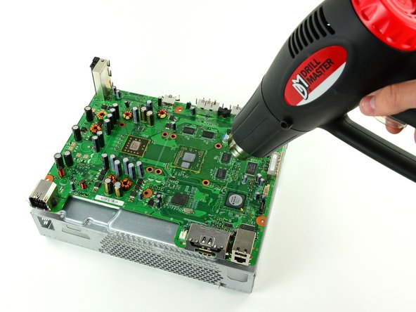 Reflowing Xbox 360 Motherboard
