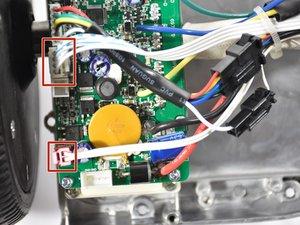 Left Gyroscope Sensor Board