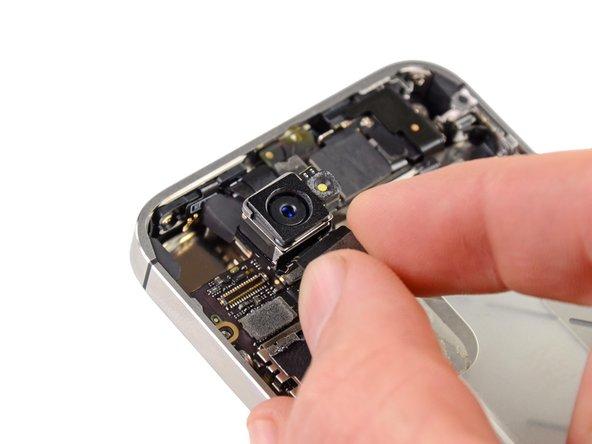iPhone 4Sの背面カメラの交換