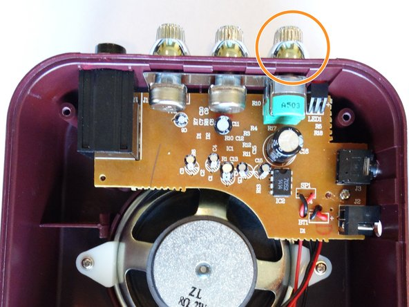 Connect the battery and turn the power on to test proper connection of the new speaker.