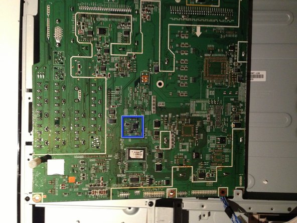 Samsung LA40R81BD 40in LCD TV Main Board EEPROM Replacement
