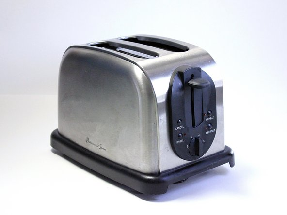 Make sure that the toaster is unplugged before attempting any sort of disassembly!