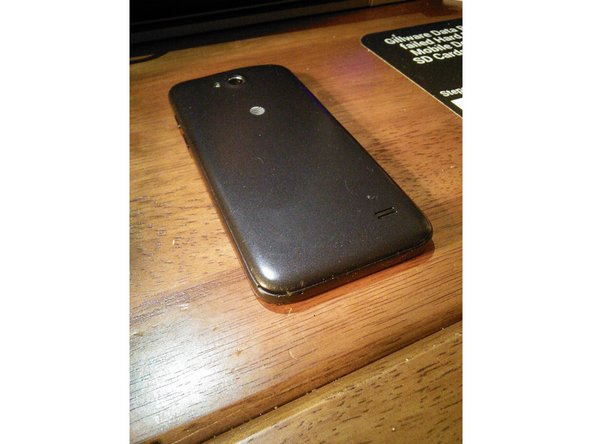 ZTE Maven back cover replacement